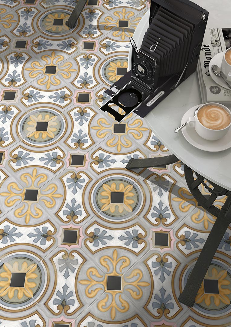 Encaustic cement tiles for Kitchens | Vodevil