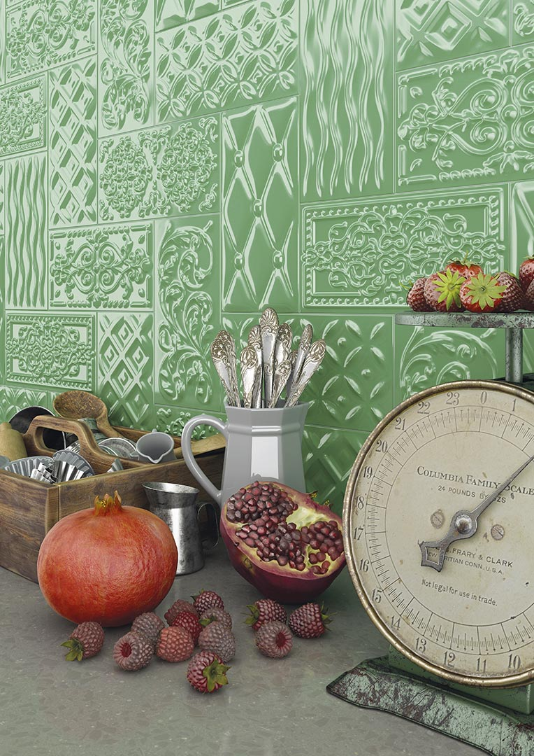 Ceramic heritage for Kitchens | Mugat - rivoli