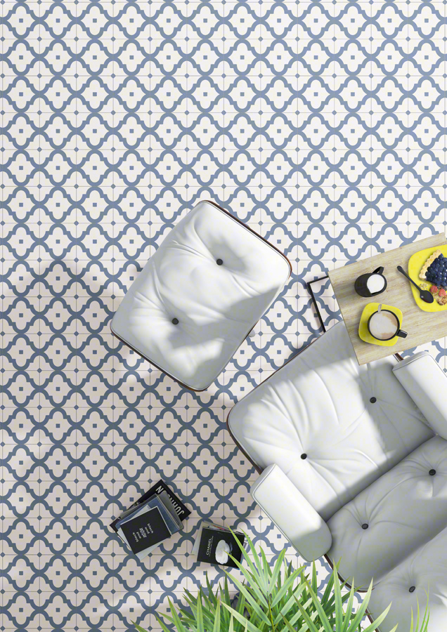 Encaustic cement tiles for Living rooms | Maori