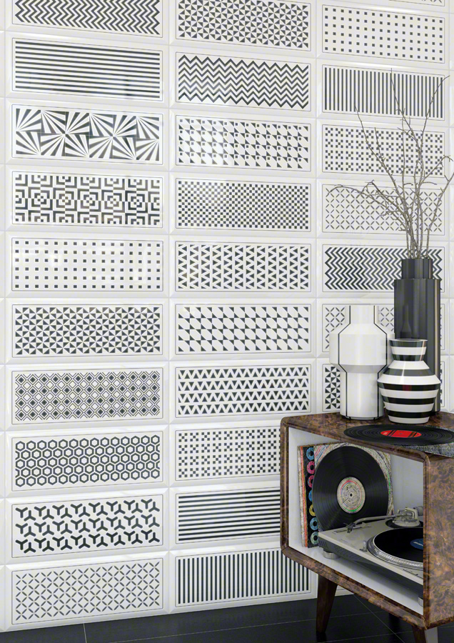 White tiles for Living rooms | Gran mugat