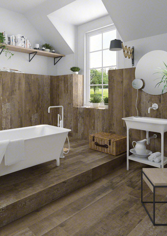 Wood for Bathrooms | Montgomery