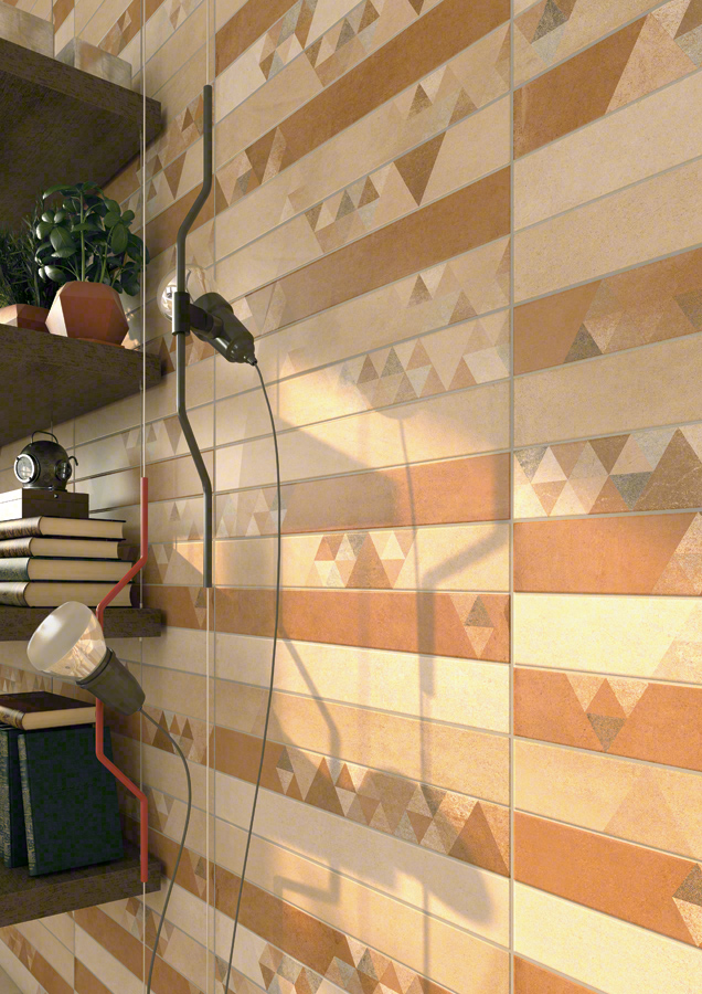 Wall tiles red body stone effect tiles Romsey 20X50 | VIVES Azulejos ...