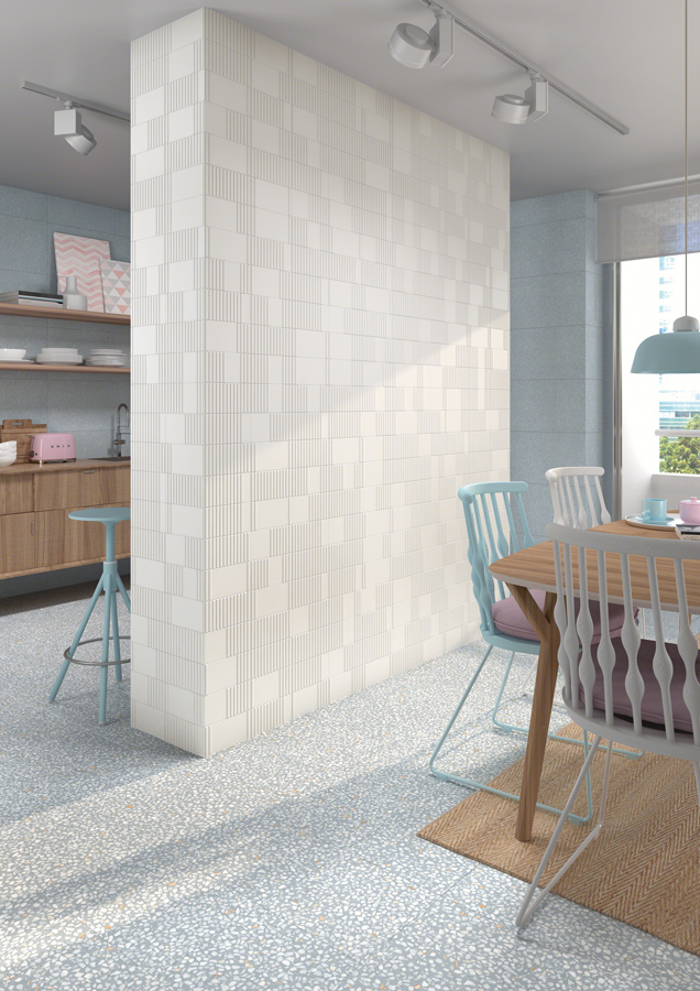 Terrazzo,ceramic heritage for Kitchens | Farnese