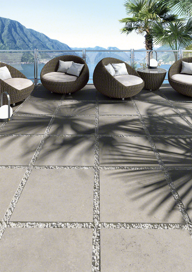 Encaustic cement tiles for Outdoors | Nassau
