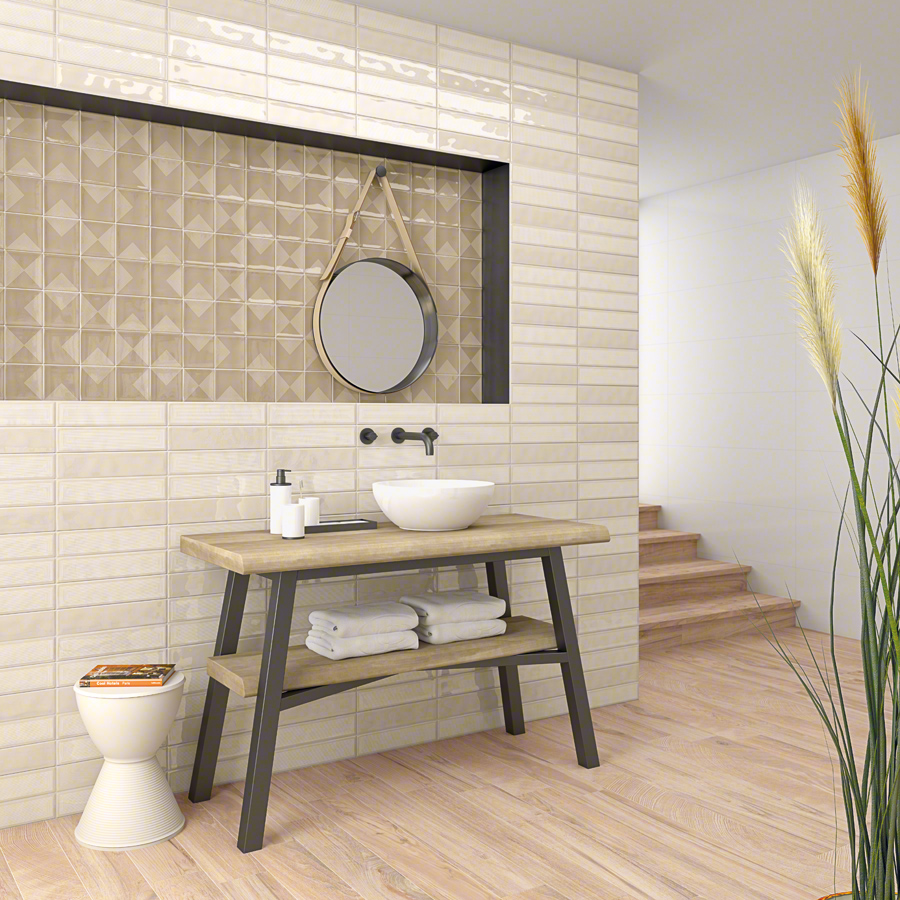 Ceramic heritage for Bathrooms | Hanami