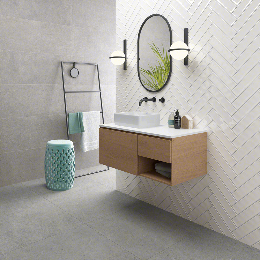 Concrete,ceramic heritage for Bathrooms | Kamala