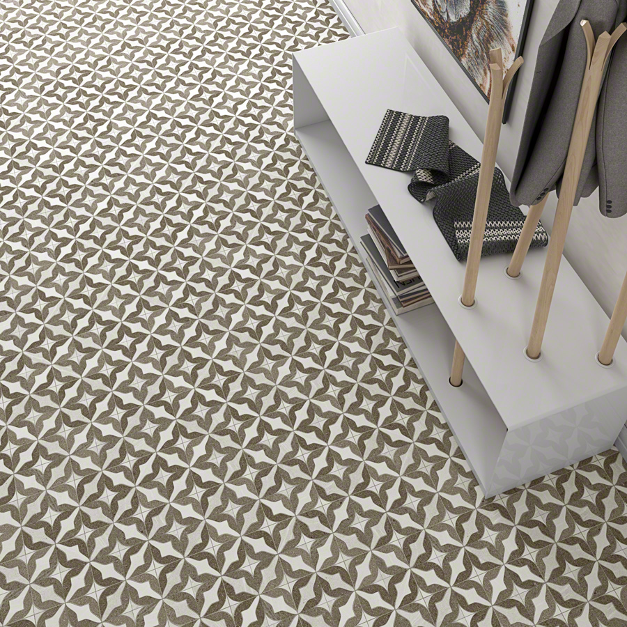 Encaustic cement tiles for Living rooms | Seine
