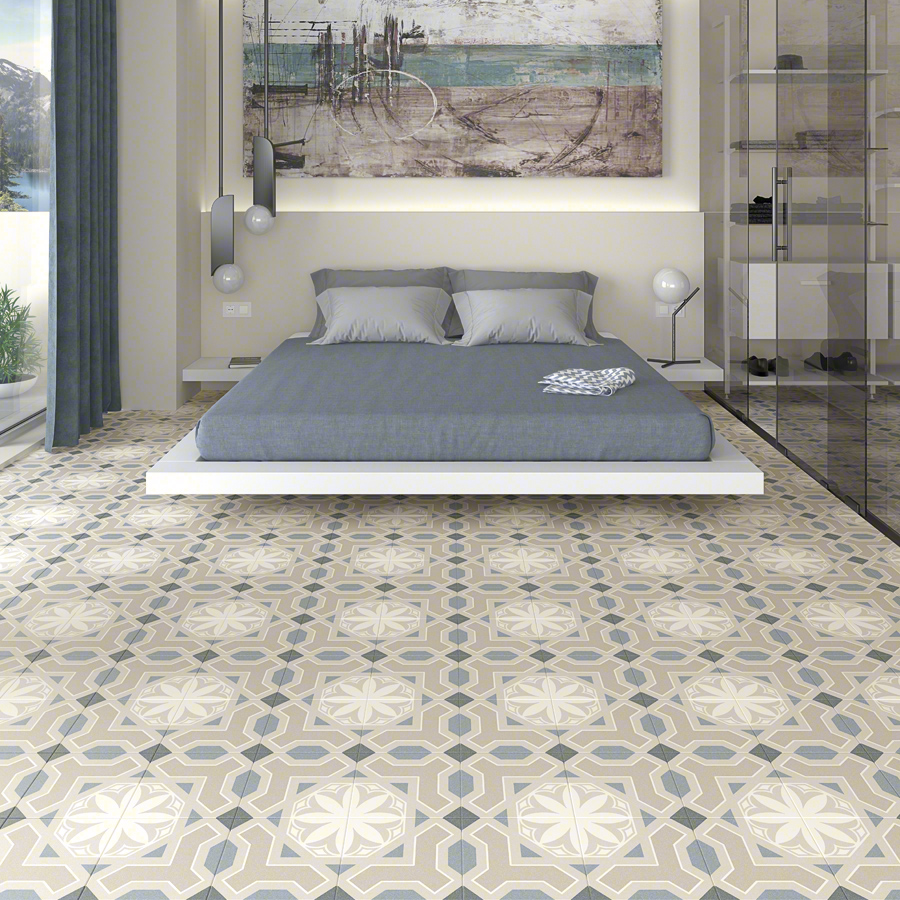 Encaustic cement tiles for Living rooms | Alameda