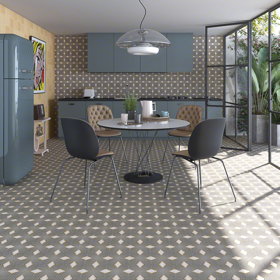 Encaustic cement tiles for Kitchens | Pop tile