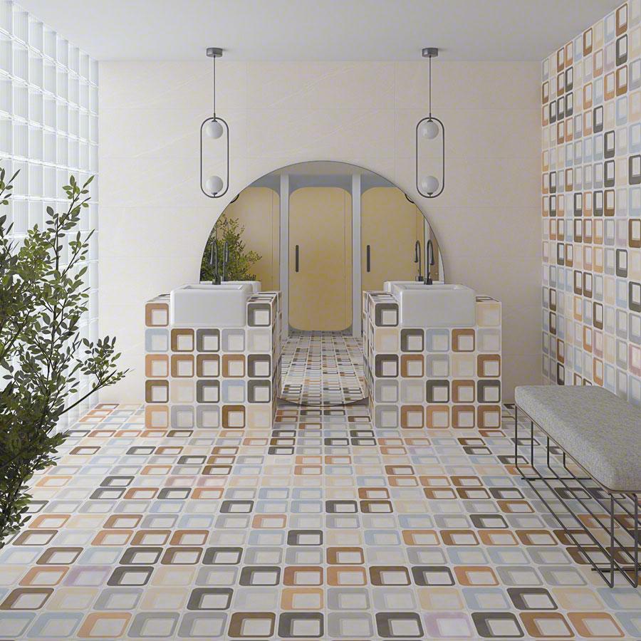 Encaustic cement tiles for Bathrooms | Pop tile