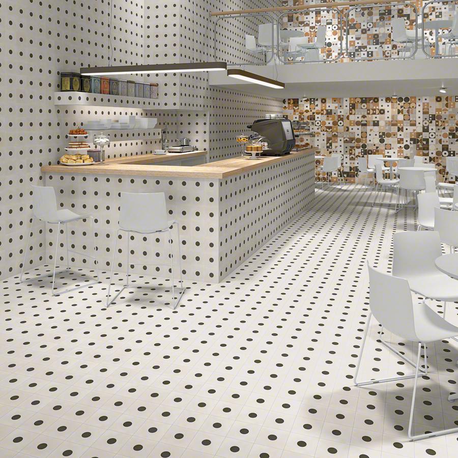 Encaustic cement tiles for Public spaces | Pop tile