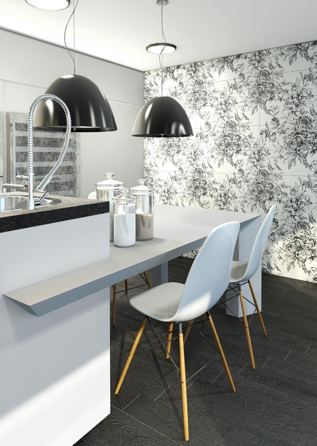 White tiles for Kitchens | Blanco brillo