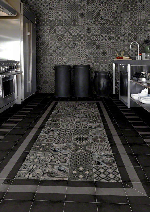 Encaustic cement tiles for Kitchens | 1900