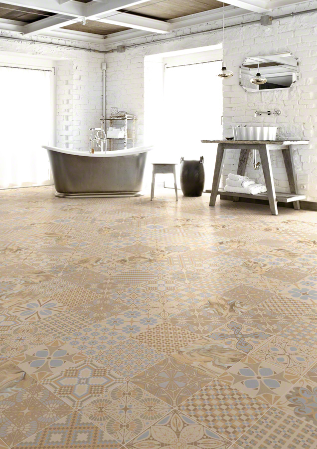 Encaustic cement tiles for Bathrooms | 1900