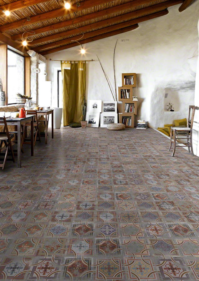Encaustic cement tiles for Living rooms | 1900