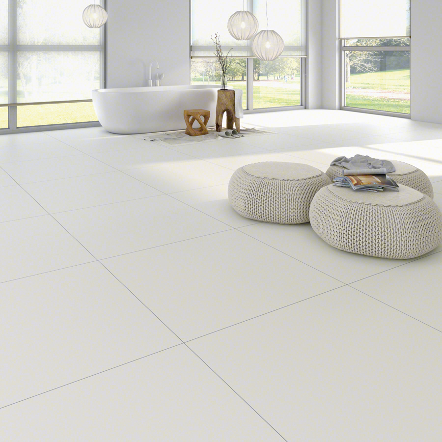 White tiles for Living rooms | Inari