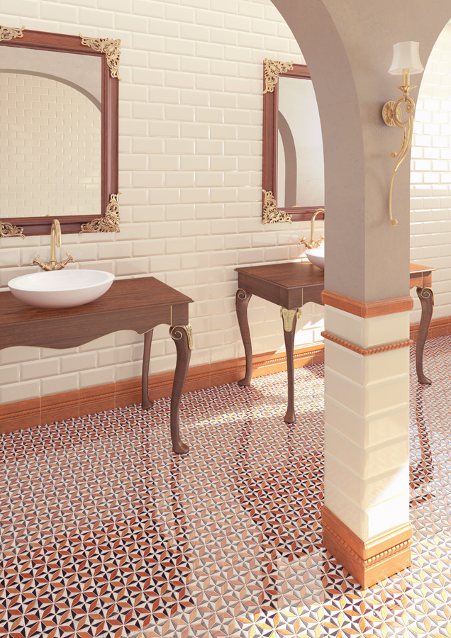 Ceramic heritage for Bathrooms | Mugat - rivoli