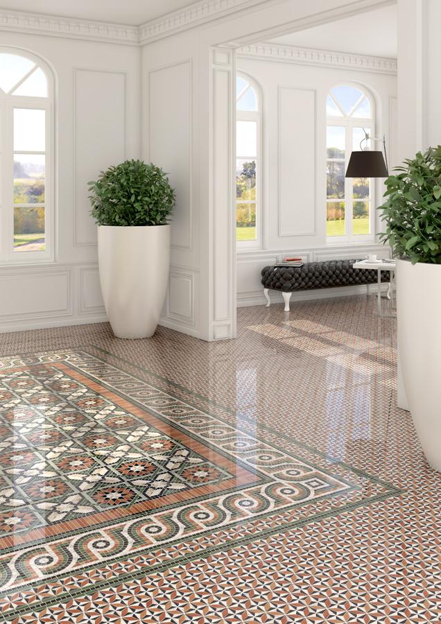 Mosaics for Living rooms   Via appia