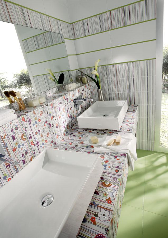 White tiles for Bathrooms | Blanco brillo