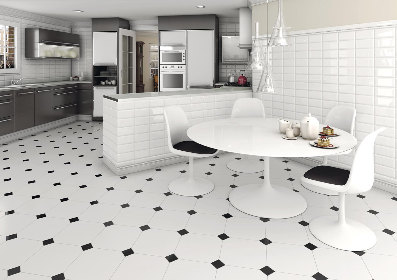 Ceramic heritage,monocolor for Kitchens | Mugat - rivoli
