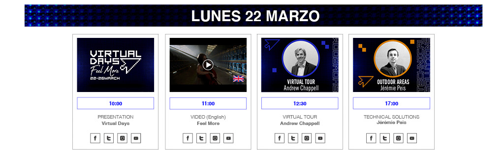 Virtual Days 22-26 March 2021