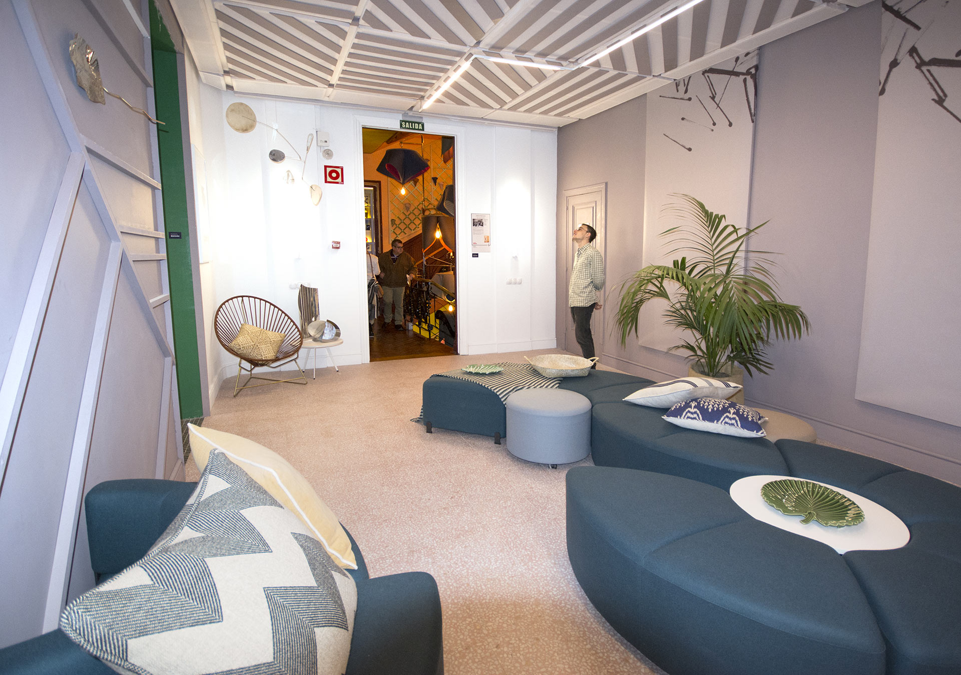 VIVES at the pink lobby of Casadecor 2018, 28 February