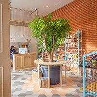 Proyecto de interiorismo en un supermercado de Madrid