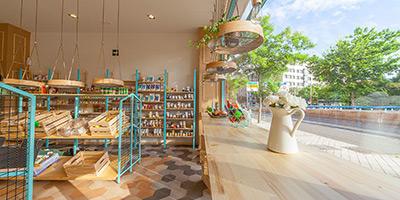 Cerámica hexagonal para pavimentar el suelo del supermercado