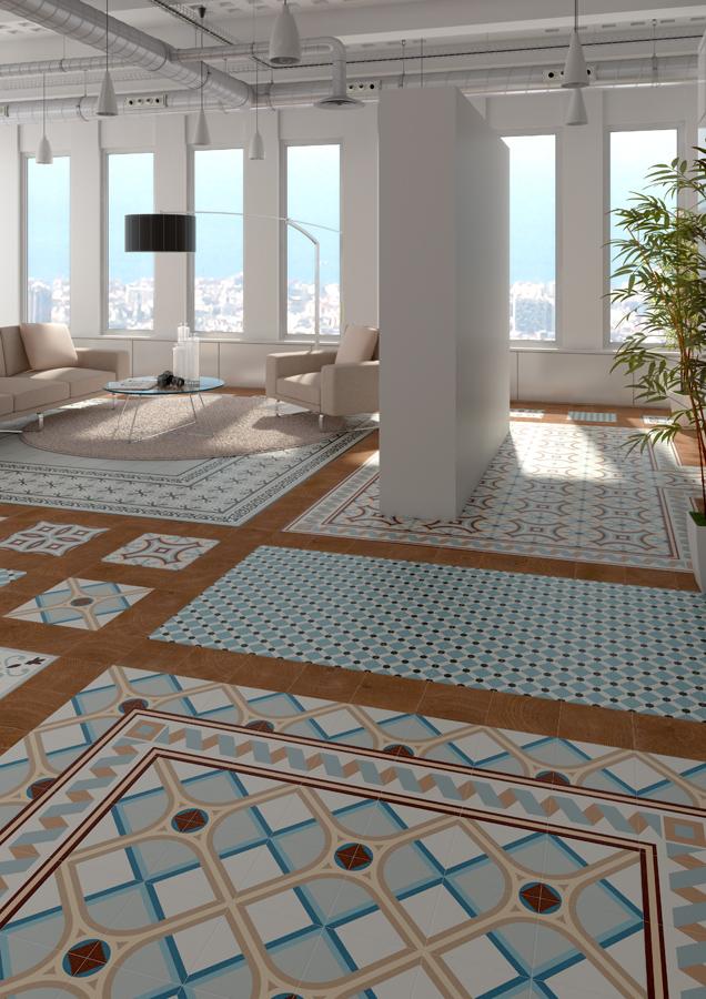 Floor Tiles Gres 1900 20x20 Vives Azulejos Y Gres