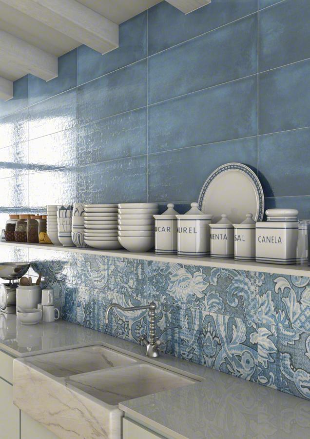 Wall tiles white body laterza 25x75 vives azulejos y gres for Azulejos vives
