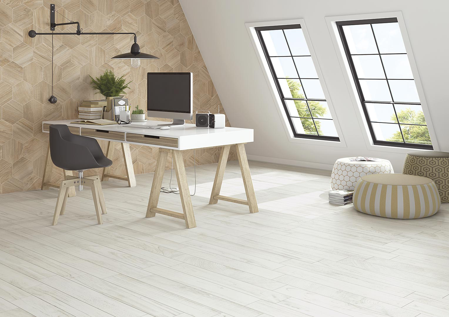 Pavimento porcel nico gamma 23x26 6 vives azulejos y gres - Porcelanico imitacion parquet ...