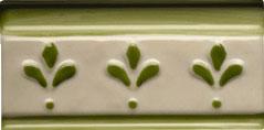 Listelo Hijar Verde 6'5X13