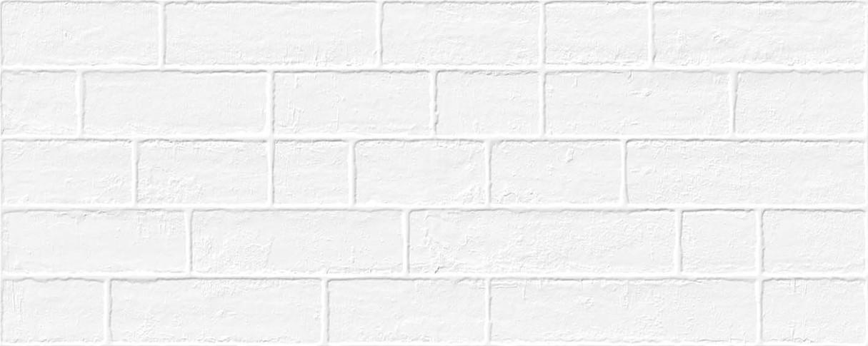 base revestimiento Edale Blanco 20X50, pasta roja