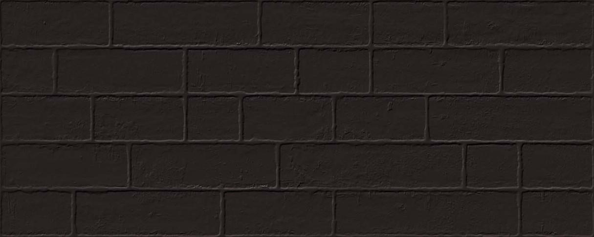 base revestimiento Edale Negro 20X50, pasta roja