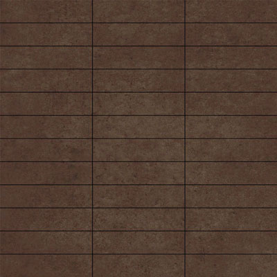 Mosaico Rect.ruhr Chocolat 30X30