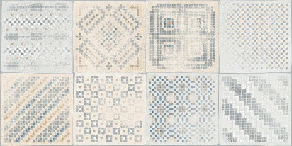 decored plain tile Kinaros 30X60, porcelain