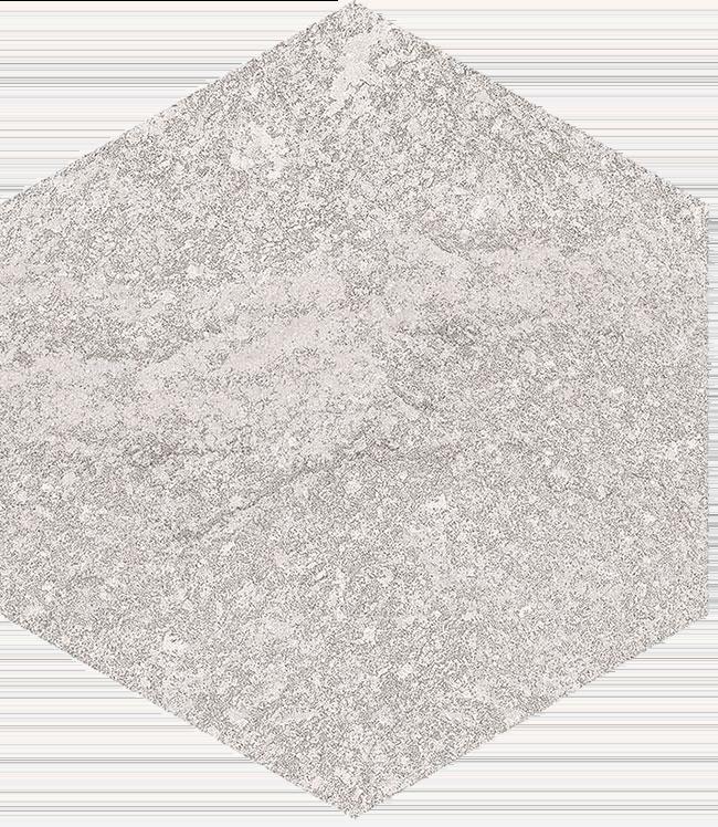 base porcelánico Hexágono Benson Nacar 23X26,6, porcelánico