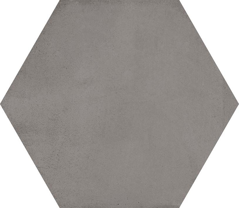 hexágono Hexágono Bampton Grafito 23X26,6, porcelánico
