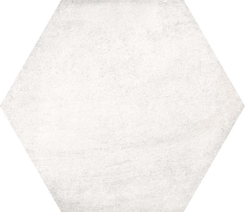 hexágono Hexágono Bampton Nieve 23X26,6, porcelánico