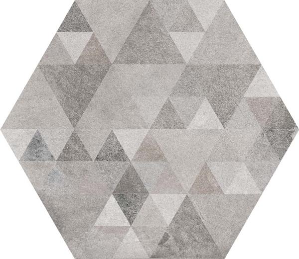 hexágono Hexágono Benenden Sombra 23X26,6, porcelánico