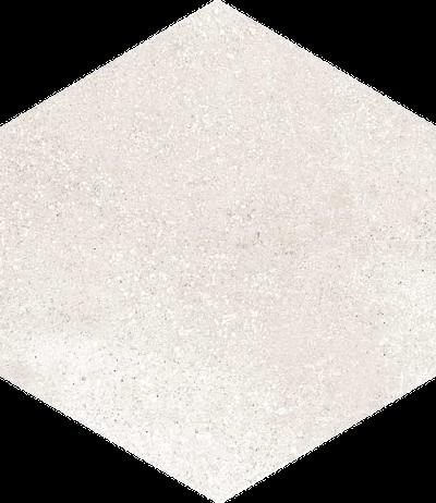 base porcelánico Hexágono Rift Crema 23X26,6, porcelánico