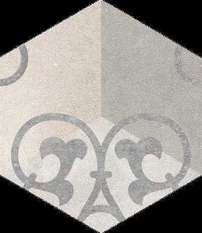 base porcelánico Hexágono Kunashir 23X26,6, porcelánico