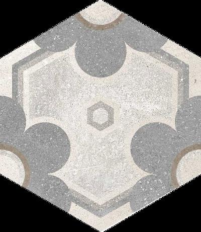 base porcelánico Hexágono Yerevan 23X26,6, porcelánico