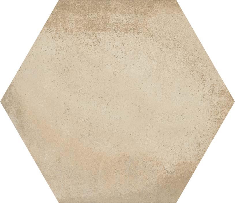 hexágono Hexágono Bampton Beige 23X26,6, porcelánico
