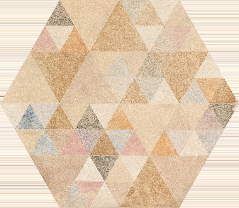 hexágono Hexágono Benenden Multico 23X26,6, porcelánico