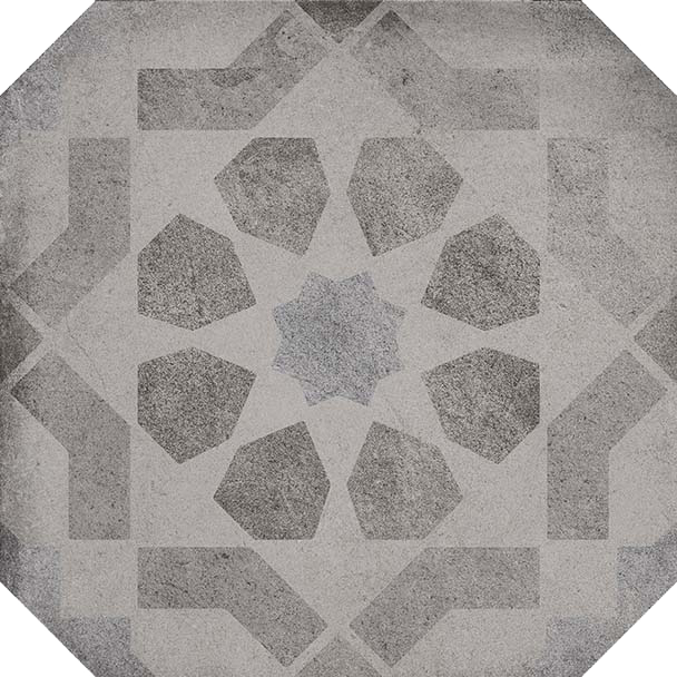 octógono Octógono Turgis Sombra 20X20, porcelánico