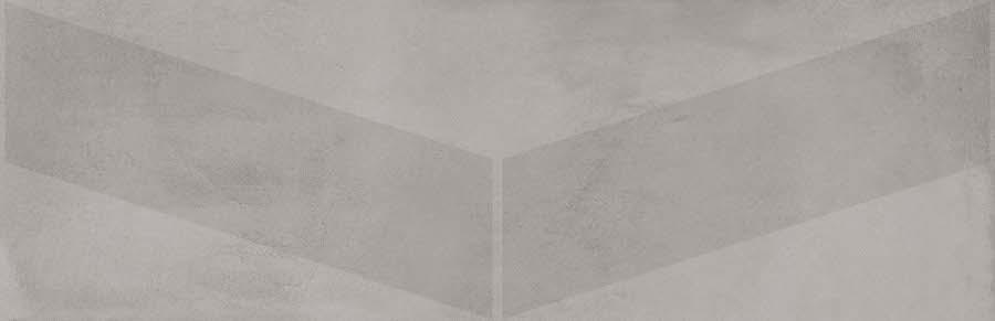 base revestimiento Ebony-R Gris 32X99, pasta blanca
