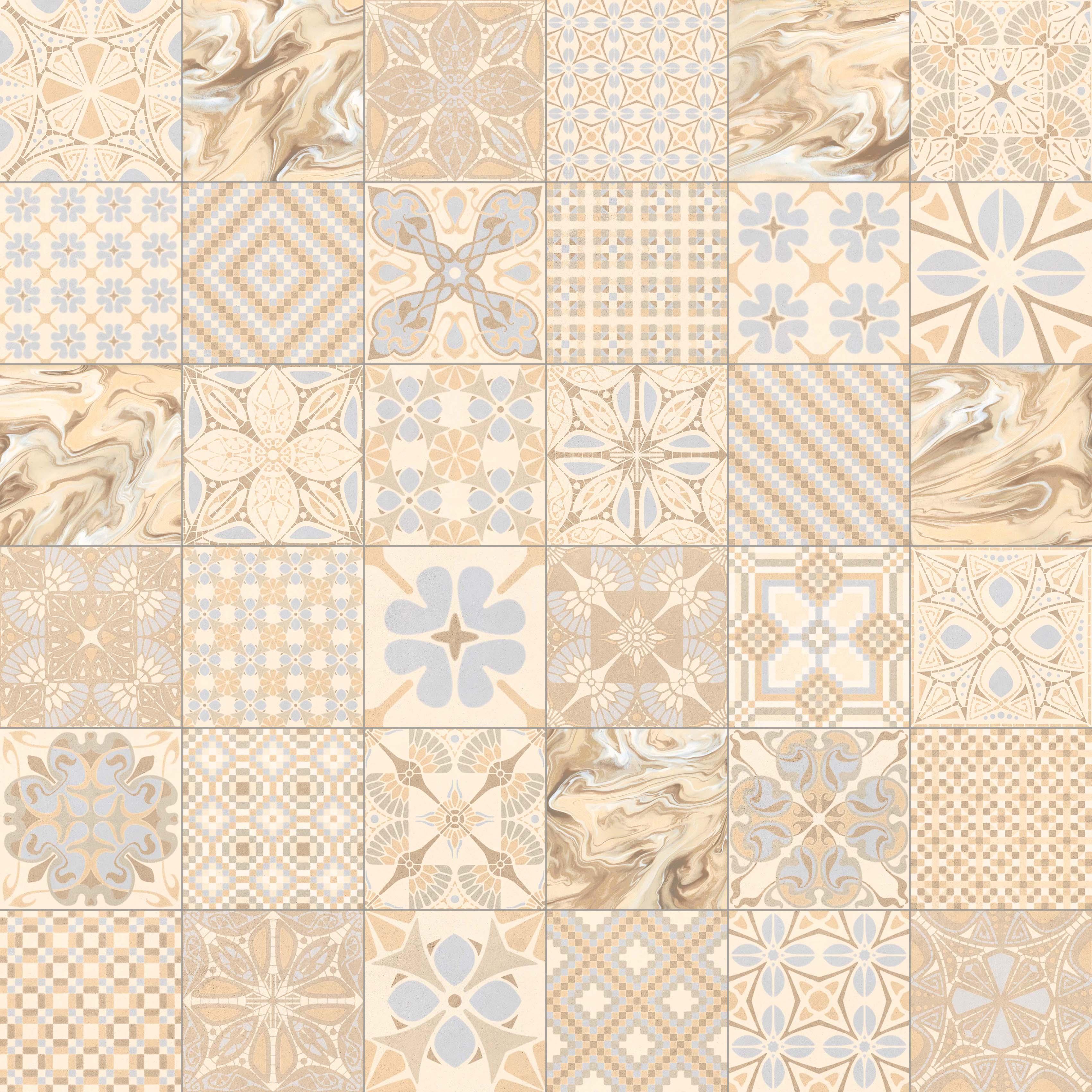 Floor tiles gres 1900 20x20 vives azulejos y gres - Bodenfliesen vintage look ...