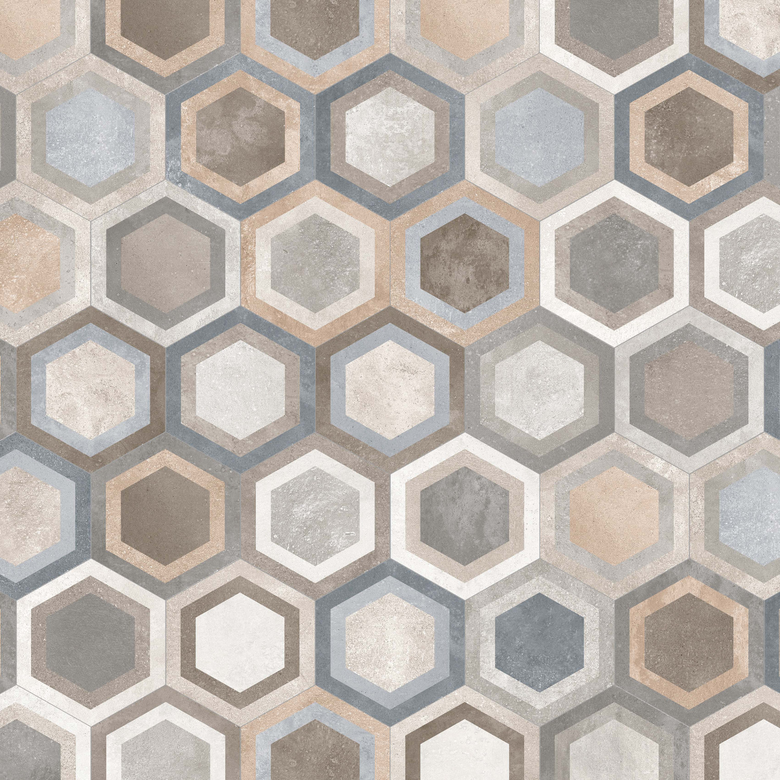 1 Hexagon Ceramic Tile