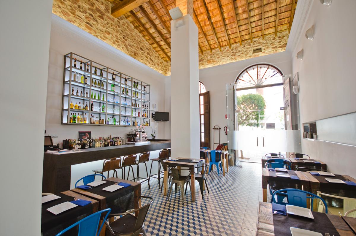 Restaurante villa angelita vives azulejos y gres for Azulejos restaurante
